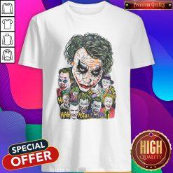 Joker Face All Season Haha Shirt