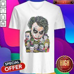 Joker Face All Season Haha V-neck