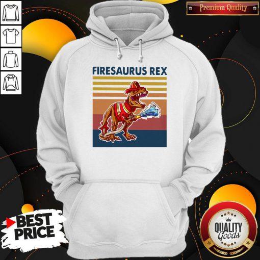Official Firesausus Rex Vintage Hoodie