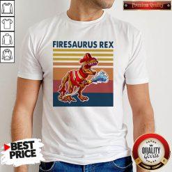 Official Firesausus Rex Vintage Shirt
