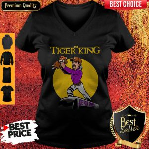 Official The Lion King Joe For Pres The Tiger King V Neck