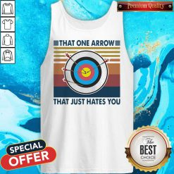 Target That One Arrow That Just Hates You Vintage Tank Top