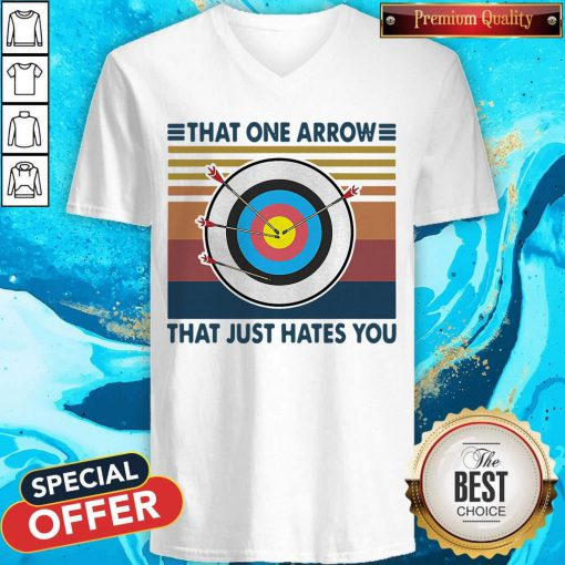 Target That One Arrow That Just Hates You Vintage V-neck