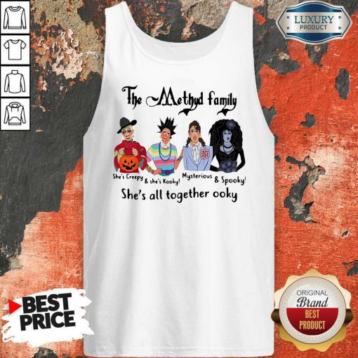 The Methyd Family She's All Together Ooky Tank Top