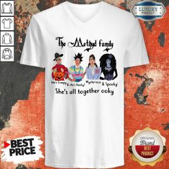 The Methyd Family She's All Together Ooky V-neck