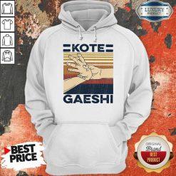 Awesome Kote Gaeshi Vintage Hoodie