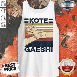 Awesome Kote Gaeshi Vintage Awesome Kote Gaeshi Vintage Tank Top
