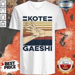 Awesome Kote Gaeshi Vintage V-neck