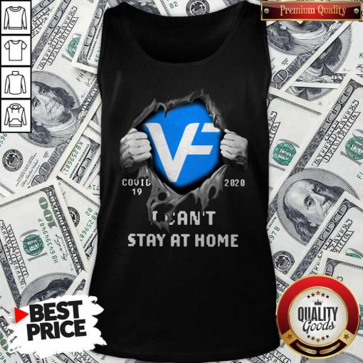 Blood Inside Me VF Corporation Covid 19 2020 I Can't Stay At Home Tank Top