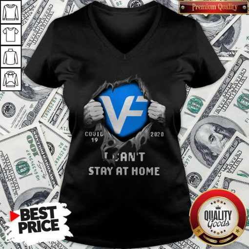 Blood Inside Me VF Corporation Covid 19 2020 I Can't Stay At Home V-neck