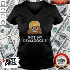 Donald Trump Not My Demagogue V-neck