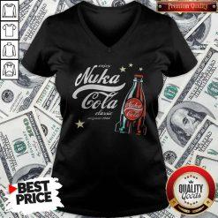 Enjoy Nuka Cola Classic Original 2044 Stars V-neck