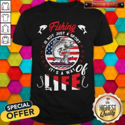 Fishing Is Not Just A Sport It's A Way Of Life American Flag Vintage Shirt