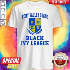 Fort Valley State HBCU Black Ivy League Shirt
