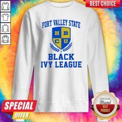 Fort Valley State HBCU Black Ivy League Sweatshirt