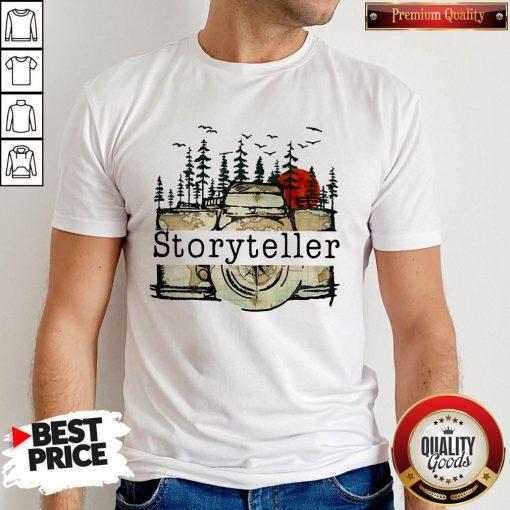 Funny Camera Storyteller Moon Shirt