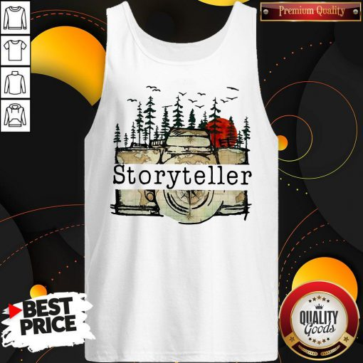 Funny Camera Storyteller Moon Tank Top