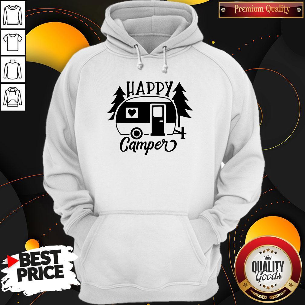 Funny Happy Camper Hoodie