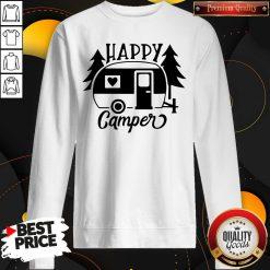 Funny Happy Camper Sweatshirt