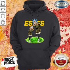 Funny Rick And Morty Estes Hoodie