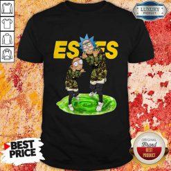 Funny Rick And Morty Estes Shirt