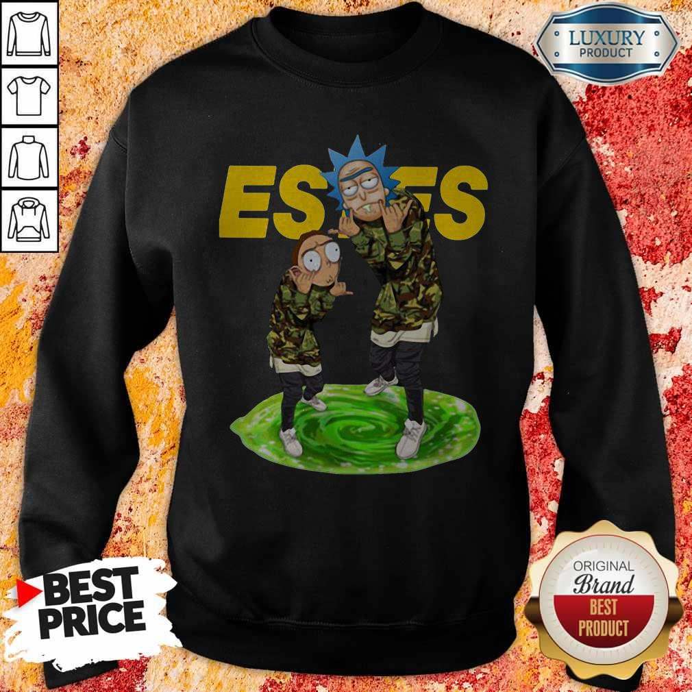 Funny Rick And Morty Estes Sweatshirt