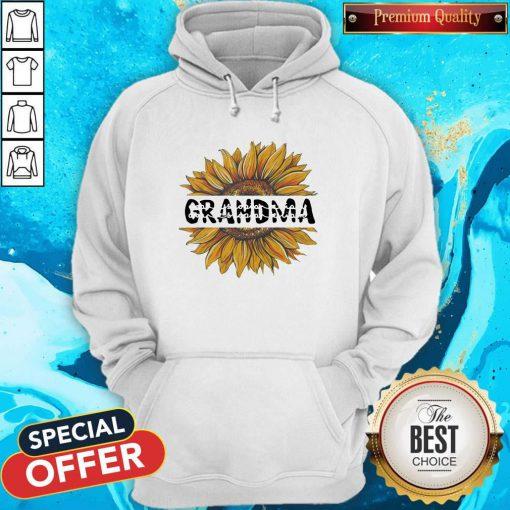 Funny Sunflower Grandma Hoodie