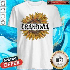 Funny Sunflower Grandma Shirt