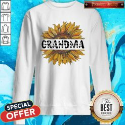 Funny Sunflower Grandma Sweatshirt