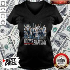 Grey's Anatomy 2005 2020 16 Seasons 342 Episodes V-neck