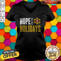 Hope For THe Holiday San Francisco 49ers V-neck