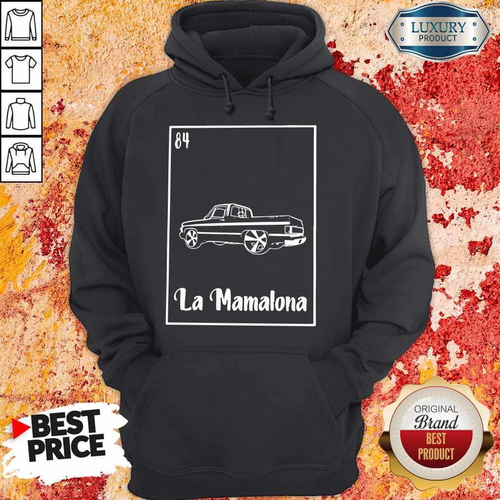 La Mamalona Car 84 Black Hoodie