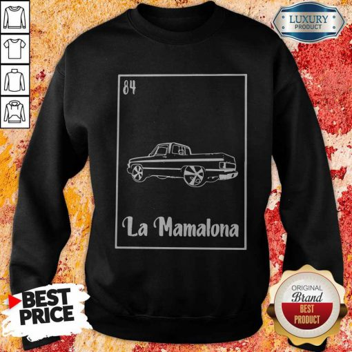 La Mamalona Car 84 Black Sweatshirt