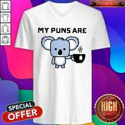 My Puns Are Koala Tea V-neck