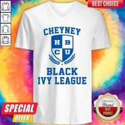 Nice Cheyney BCU Black Ivy League V-neck