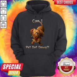 Nice Dachshund Can I Pet Dat Dawg Hoodie
