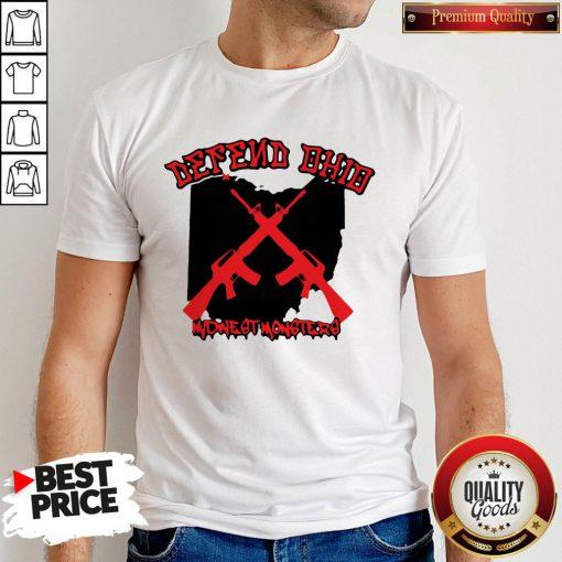 Nice Gun Defend Ohio Official Shirt