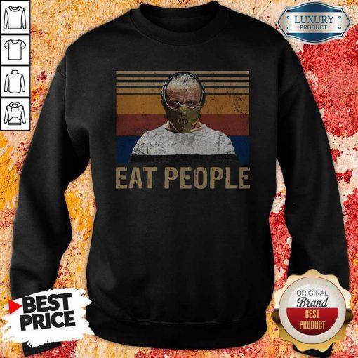Nice Hannibal Lecter Eat People Vintage T-Sweatshirt