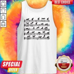 Nice Horse Notes On Sheet Music Tank Top