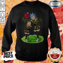 Nice Rick And Morty Applebee's Sweatshirt