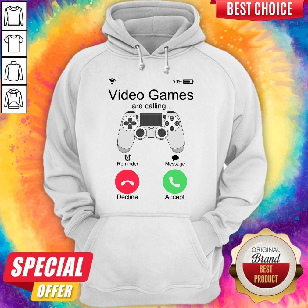 Nice Video Games Are Calling Hoodie