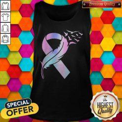 Nice Wings Bird Cancer Awareness Tank Top