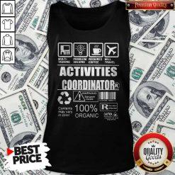 Official Activities Coordinator Tank Top