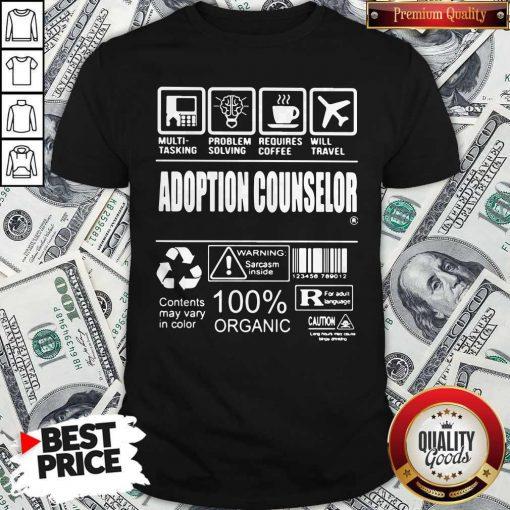 Official Adoption Counselor Shirt