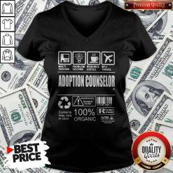 Official Adoption Counselor V-neck