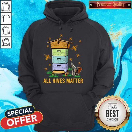 Official All Hives Matter Bees Hoodie