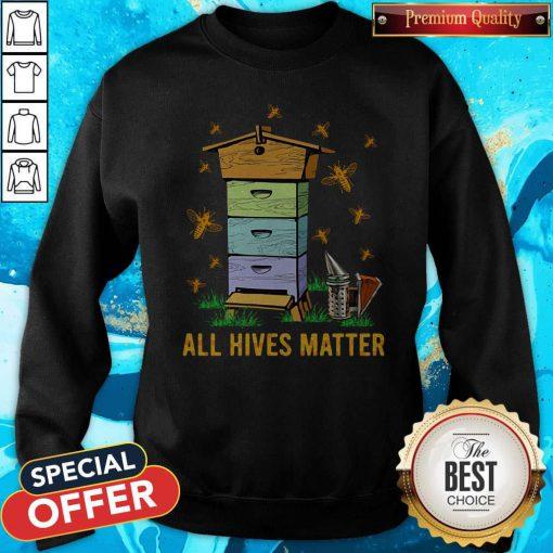 Official All Hives Matter Bees Sweatshirt