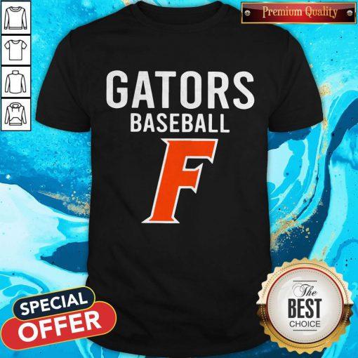 Official Florida Gators Baseball F Shirt
