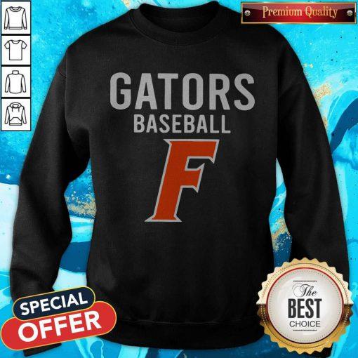 Official Florida Gators Baseball F SweatShirt