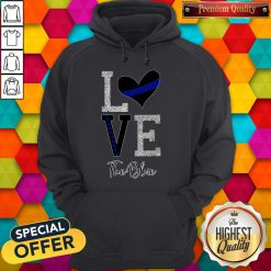 Official Love The Blue Hoodie